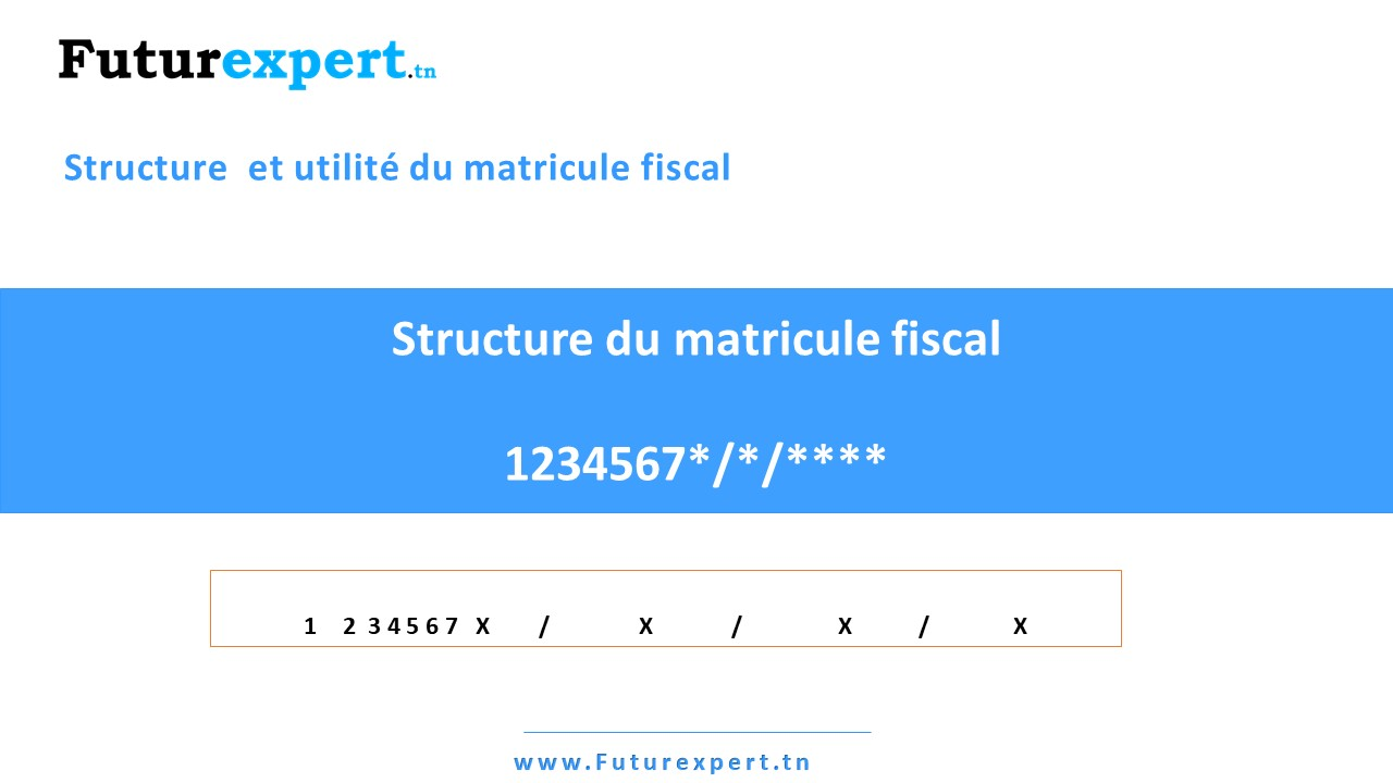 Matricule fiscal